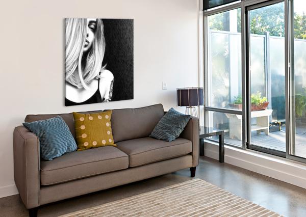 DRAGON KOS ART  Canvas Print
