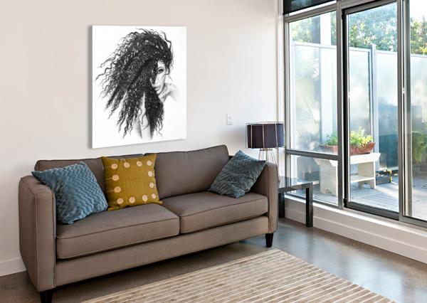 THE MUSE KOS ART  Canvas Print