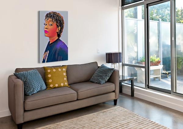 SIMPLIFY ARTISTIC  Canvas Print