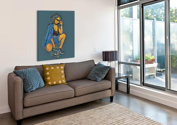 SUPERSPY ARTISTIC  Canvas Print