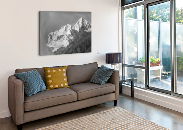 WHITEWATER MOUNTAIN 1 OF 1 BILLY STEVENS MEDIA   Canvas Print