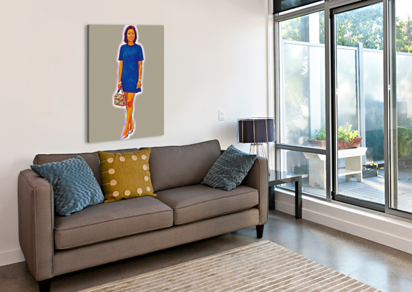 SUSPENSE ARTISTIC  Canvas Print
