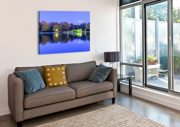 BEAVER LAKE REFLECTION REZIEMART  Canvas Print