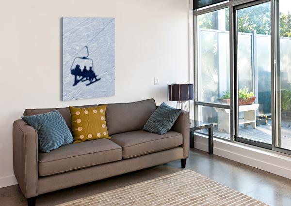 LIFT CHAIR ALDO CRUZ  Canvas Print