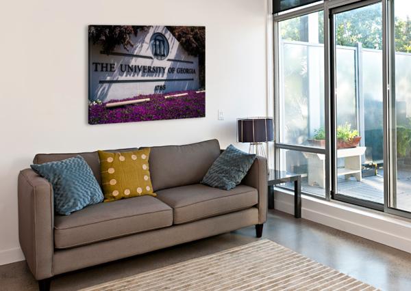 UNIVERSITY OF GEORGIA   ATHENS GA 07037 @THEPHOTOURIST  Canvas Print