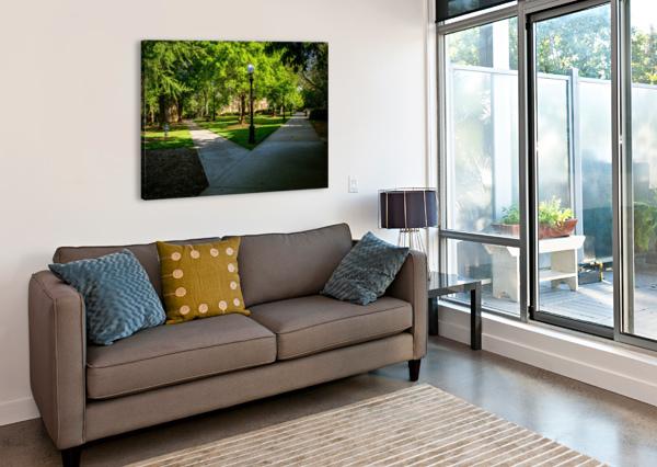 UNIVERSITY OF GEORGIA   ATHENS GA 06331 @THEPHOTOURIST  Canvas Print