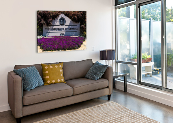 UNIVERSITY OF GEORGIA   ATHENS GA 07028 @THEPHOTOURIST  Canvas Print