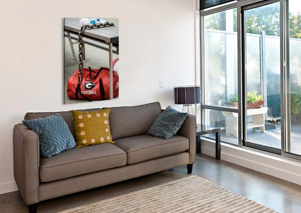 UNIVERSITY OF GEORGIA FOOTBALL   ATHENS GA 3674 @THEPHOTOURIST  Canvas Print