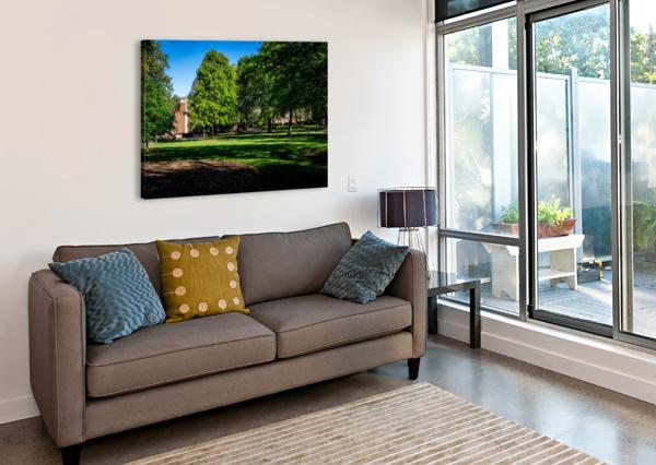 UNIVERSITY OF GEORGIA   ATHENS GA 06328 @THEPHOTOURIST  Canvas Print