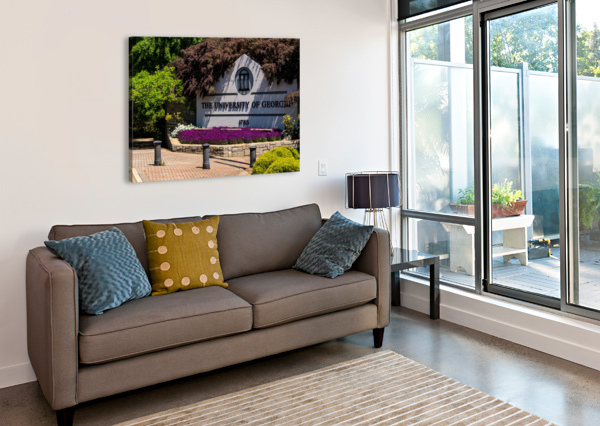 UNIVERSITY OF GEORGIA   ATHENS GA 07074 @THEPHOTOURIST  Canvas Print