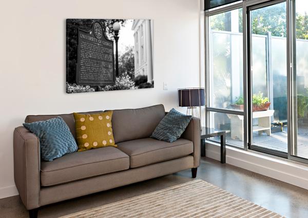 UNIVERSITY OF GEORGIA   ATHENS GA 07308 @THEPHOTOURIST  Canvas Print