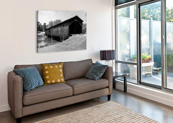 WATSON MILL BRIDGE STATE PARK   COMER GA 06587 @THEPHOTOURIST  Canvas Print