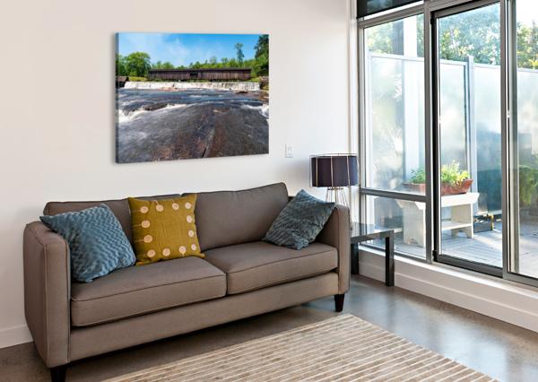 WATSON MILL BRIDGE STATE PARK   COMER GA 06860 @THEPHOTOURIST  Canvas Print