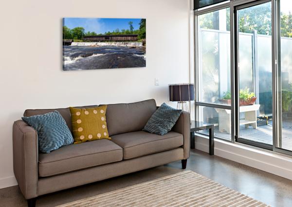 WATSON MILL BRIDGE STATE PARK   COMER GA 06668 @THEPHOTOURIST  Canvas Print