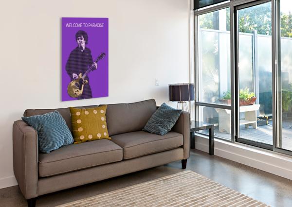 WELCOME TO PARADISE   BILLIE JOE ARMSTRONG GUNAWAN RB  Canvas Print