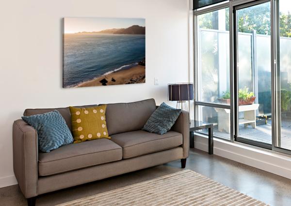 MARSHALL BEACH SUNSETS DAVID YOON  Canvas Print