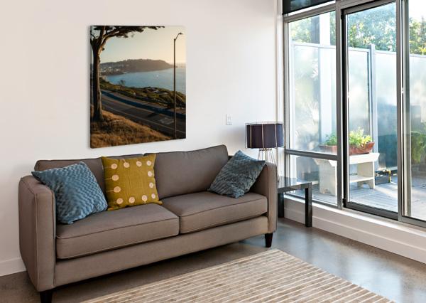 SUNSET ON SAN FRANCISCO COAST DAVID YOON  Canvas Print