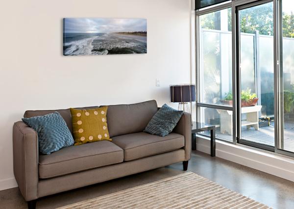 HUNTINGTON BEACH PANORAMA DAVID YOON  Impression sur toile