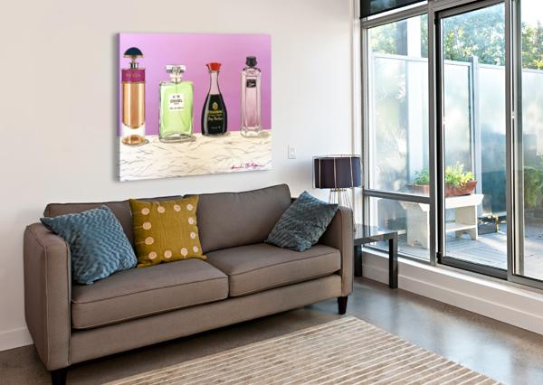SOY PARFUM BRINDA CHELLAPPAN  Canvas Print