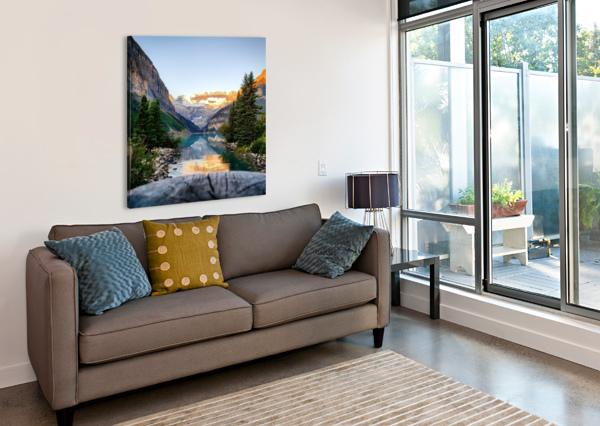 LAKE LOUISE  CHANG DYNASTY 87  Canvas Print