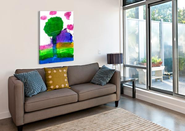 MYONA TREE ASPIRESTAR  Canvas Print