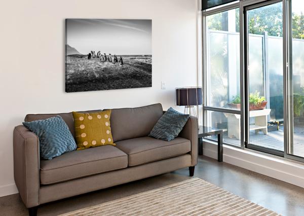 BLACK TIE BONANZA CHRIS STAHL PHOTOGRAPHY  Canvas Print