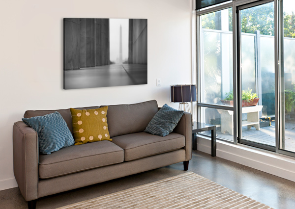 GHOST MEMORIALS CHRIS STAHL PHOTOGRAPHY  Canvas Print