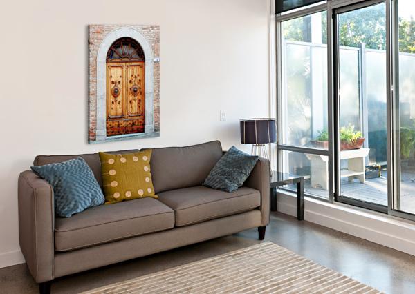 ORNATE WOODEN DOOR CITTA DELLA PIEVE 1 DOROTHY BERRY-LOUND  Canvas Print