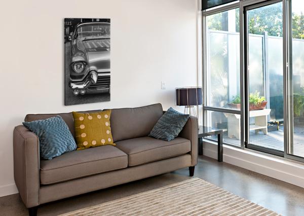 57 CADDY MOJO MUMBLEFOOT  Canvas Print