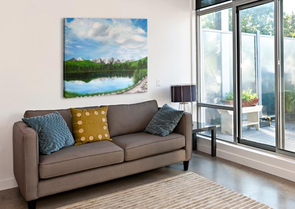 SPRAGUE LAKE CO C  MCGOWEN  Canvas Print