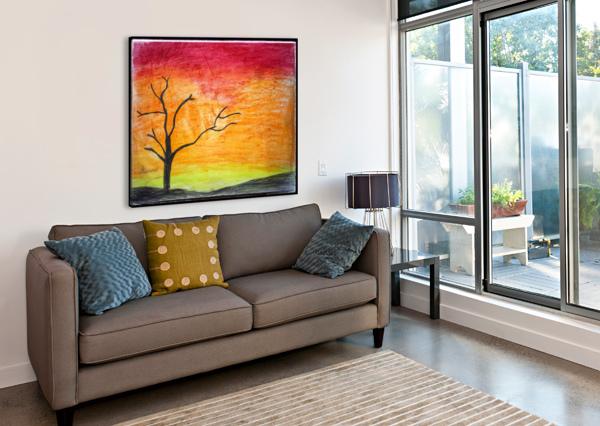 TREE AARAV GUPTA  Canvas Print
