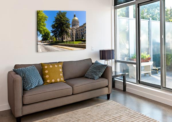 GEORGIA STATE CAPITOL BUILDING   ATLANTA GA 6984 @THEPHOTOURIST  Canvas Print
