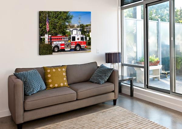 CITY OF ATLANTA FIRE ENGINE NO 29 6648 @THEPHOTOURIST  Canvas Print