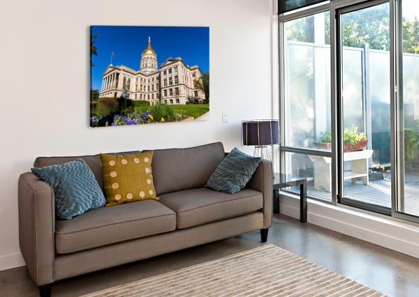 GEORGIA STATE CAPITOL BUILDING   ATLANTA GA 7236 @THEPHOTOURIST  Canvas Print