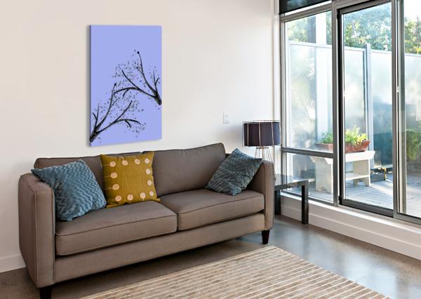 WATERCOLOR TREE CHINO20  Canvas Print