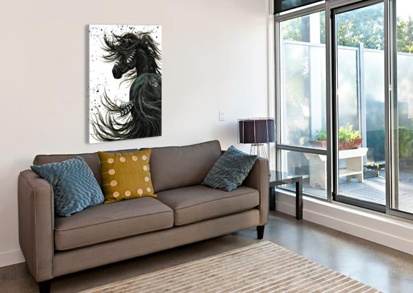 SPIRIT HORSE  AMYLYN BIHRLE  Canvas Print