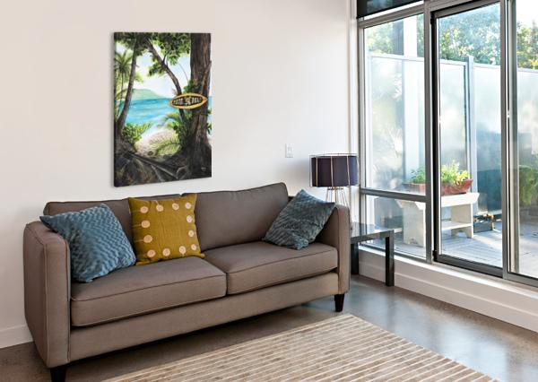 COLLECTION COSTA RICA-MATAPALO HUBLOT DESIGN  Impression sur toile