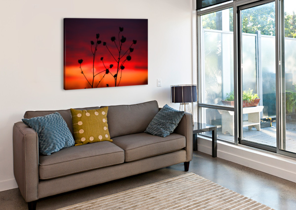 LIBERTY SUNSET BERN E KING PHOTOGRAPHY  Canvas Print