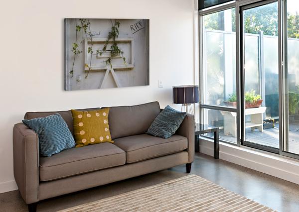 LETTERBOX ARASH AZARM  Canvas Print