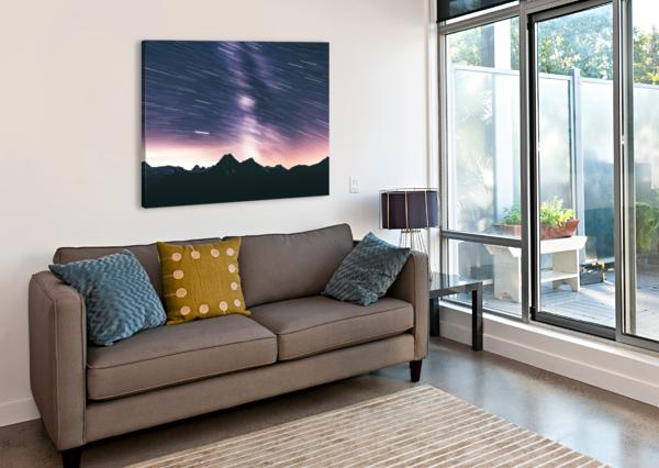 MOVING STARS MAREK PIWNICKI  Canvas Print