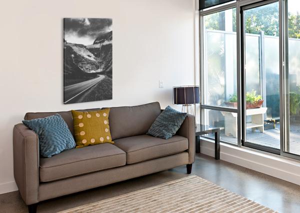 INTO THE WALL OF ICE MAREK PIWNICKI  Canvas Print