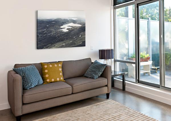 LAKE STAIN MAREK PIWNICKI  Canvas Print