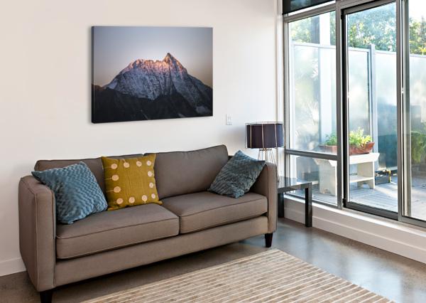 AWAKENING OF THE MOUNTAIN MAREK PIWNICKI  Canvas Print