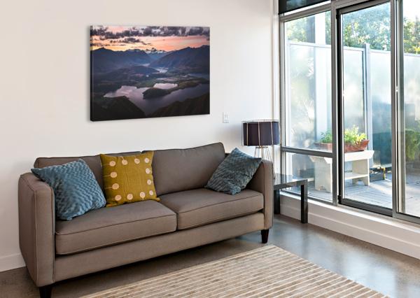 TITITEA MOUNT ASPIRING MAREK PIWNICKI  Canvas Print