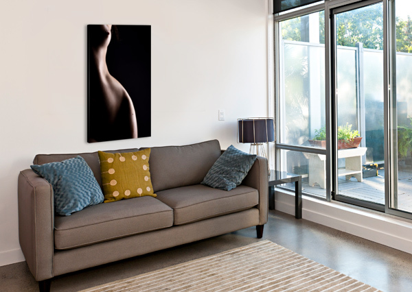 NUDE_WOMAN_SEXY_FINE_ART_NAKED_07 ALESSANDRODELLATORRE  Canvas Print