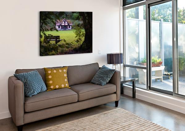 CRAIG-Y-NOS COUNTRY PARK PAVILION LEIGHTON COLLINS  Canvas Print