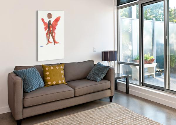 SUNCHILD BY DBIANCA  Canvas Print