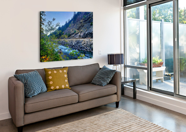 WENATCHEE RIVER  CHANG DYNASTY 87  Canvas Print