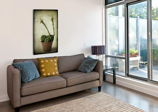 TWO BARBARA CORVINO  Canvas Print