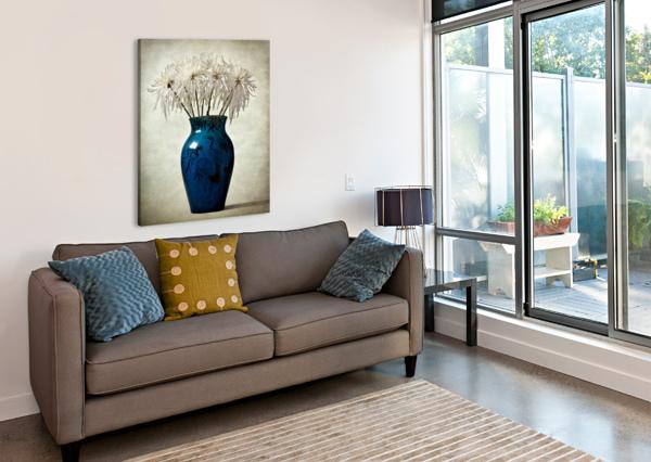 BLUE BARBARA CORVINO  Canvas Print